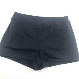 New Lands End Control Swim Shorts Black 14